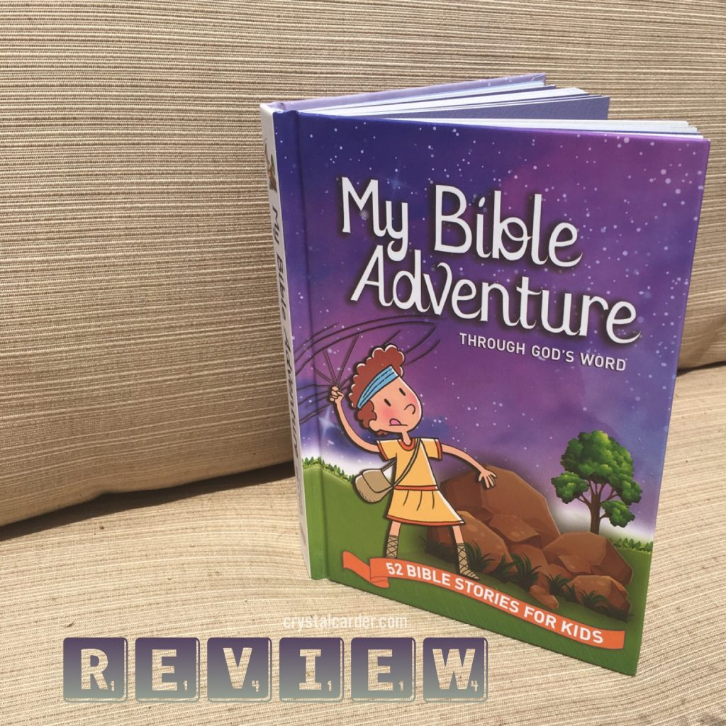 My Bible Adventure Through God's Word 52 Bible Stories for Kids Book Review