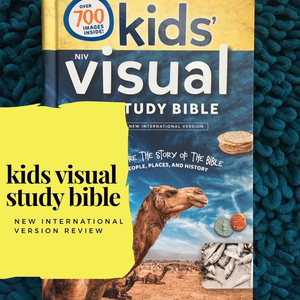 Kids' Visual Study Bible in NIV Review