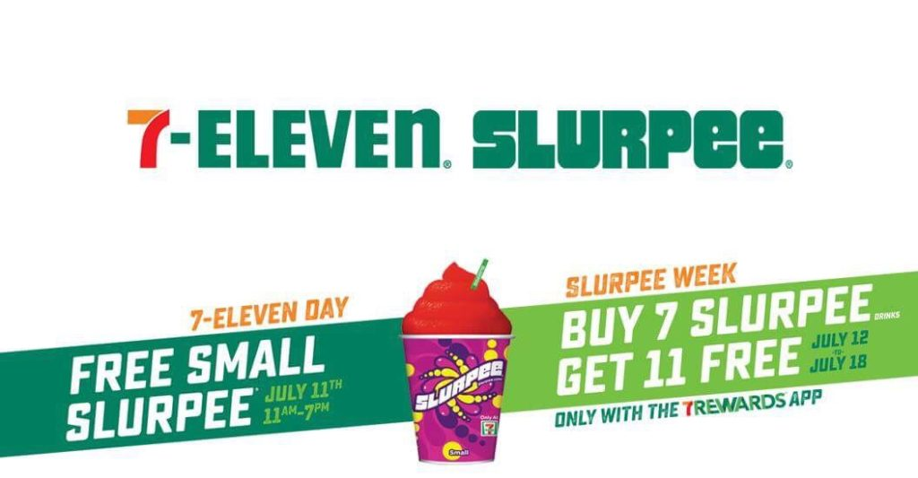 It's 7-Eleven Day, Get A Free Slurpee Today Only