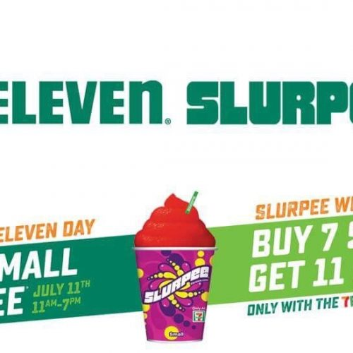 Free Small Slurpees at 7-Eleven