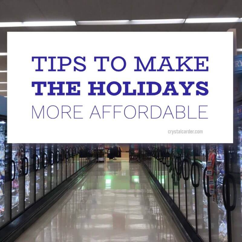 ad How to Make Holidays More Affordable