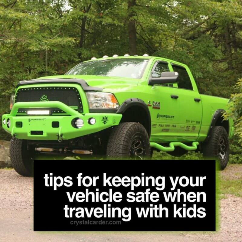 Tips for Keeping Your Vehicle Safe When Traveling With Kids #CarsCom