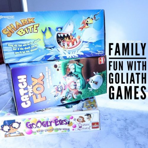 Family Fun with Goliath Games ad