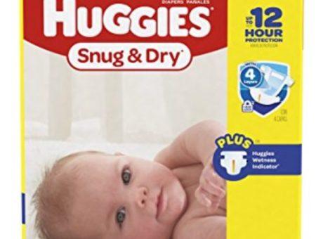 Huggies Snug and Dry Diaper Deal Amazon