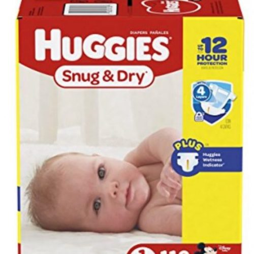Huggies Snug and Dry Diaper Deal Amazon