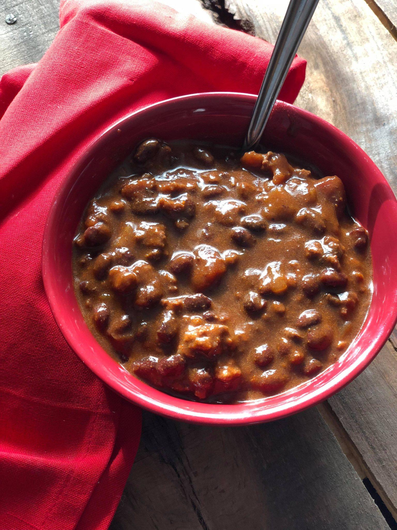 Wintry Day Chili Recipe