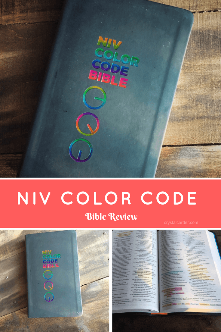 NIV Color Code Bible Review