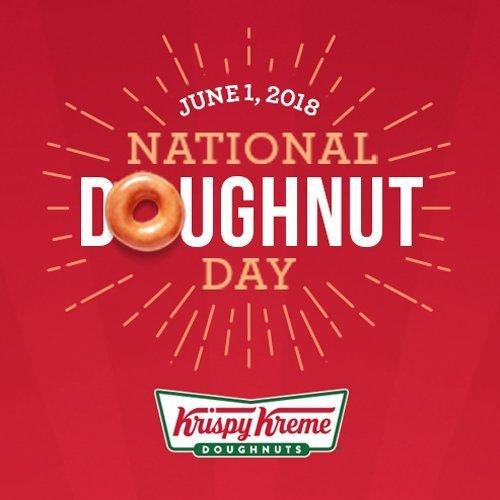 Enjoy 1 Free Donut Krispy Kreme