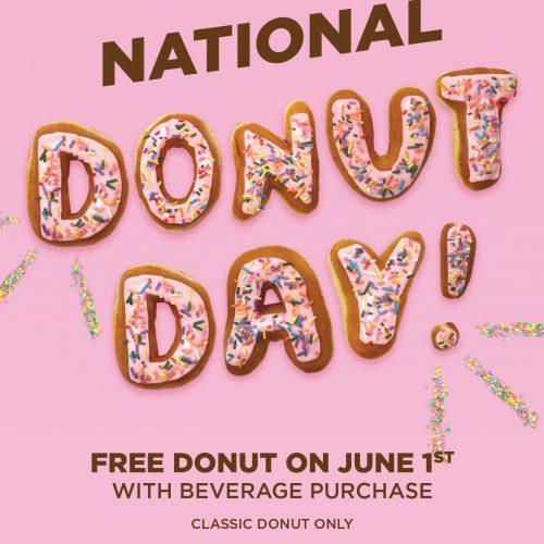 Free Donut Dunkin' Donuts