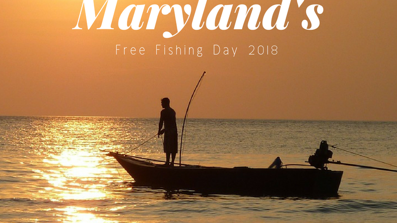 Maryland Free Fishing Day