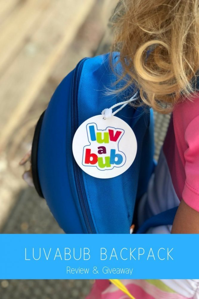 Luvabub Rocket Backpack Review & Giveaway