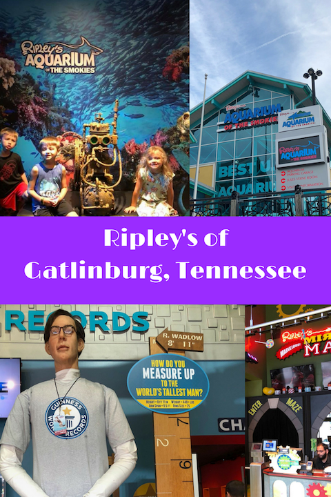 Ripley's Attractions in Gatlinburg Tennessee AD