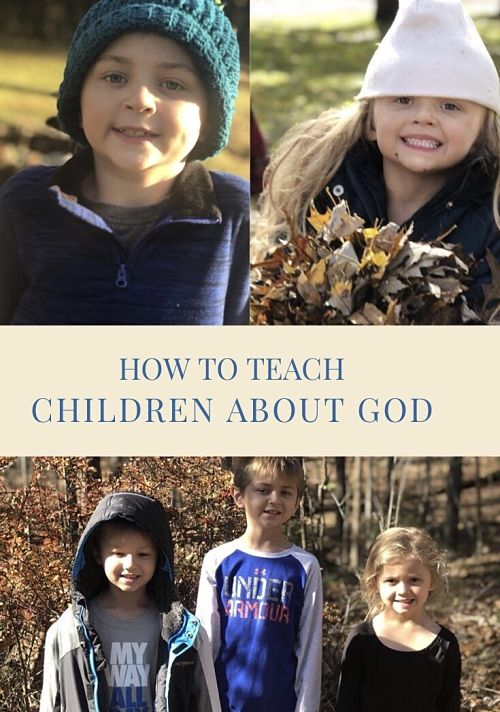 How to Teach Children About God